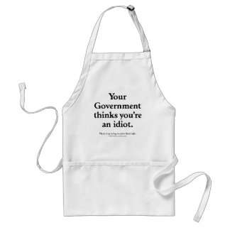 Government Idiot Aprons