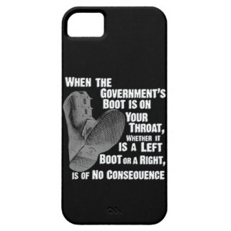 Government Jack Boot On Your Neck iPhone 5 Cover
