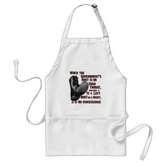 Government Jack Boot On Your Neck Standard Apron