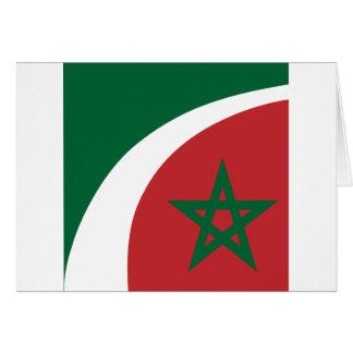 Government Morocco, Morocco Greeting Card