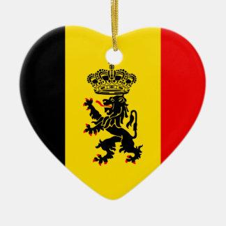 Government Of Belgium, Belgium Ceramic Heart Decoration