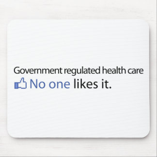 Government Regulated Health Care Mouse Pad