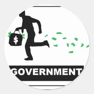 GOVERNMENT STICKER