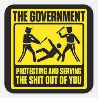 Government Warning Sticker