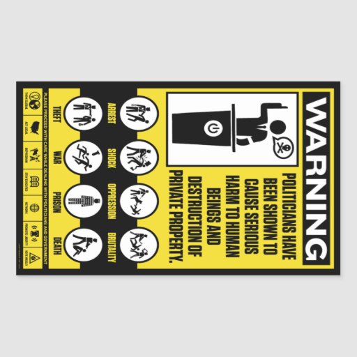Government Warning Stickers