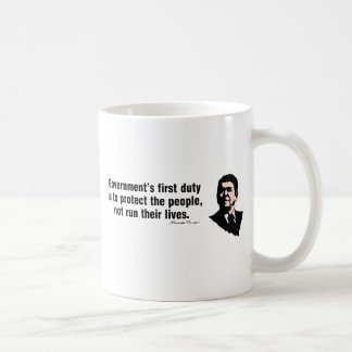 Government's First Duty Coffee Mug