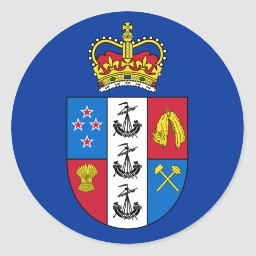 Governor-General Of New Zealand, New Zealand flag Sticker