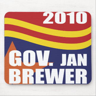 Governor Jan Brewer 2010 Mousepads