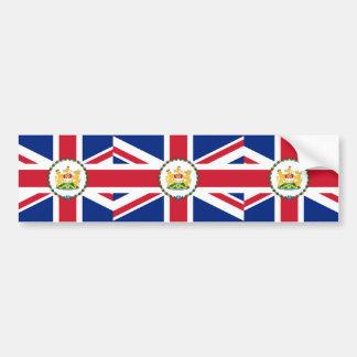 Governor Of Hong Kong, China flag Bumper Stickers
