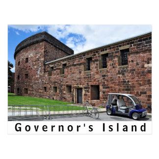 Governor's Island Castle Williams Postcard
