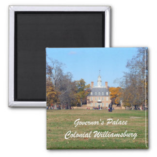 Governor's Palace, Colonial Williamsburg Square Magnet