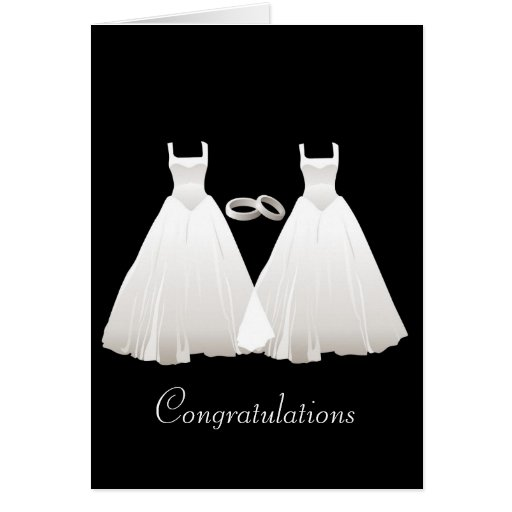 Gowns Greeting Card
