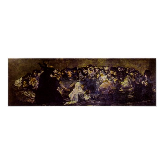 Goya: Goat; or Witches Sabbath Print