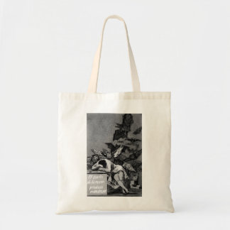 Goya The Sleep of Reason Produces Monsters Tote Bag