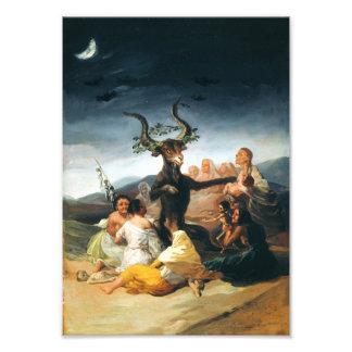 Goya Witches Sabbath Print Photo Print