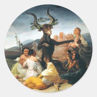 Goya Witches Sabbath Stickers