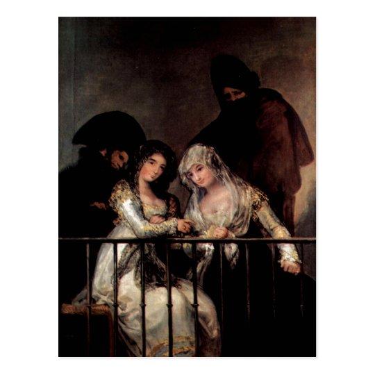 Goya y Lucientes, Francisco de Majas on a