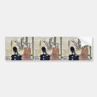 Goyu  by Katsushika, Hokusai Ukiyoe Bumper Stickers