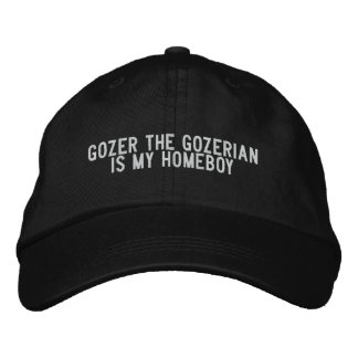 gozer the gozerian is my homeboy embroidered hats