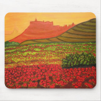 Gozo citadel view mouse mat