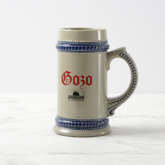 Gozo Flag Beer Stein