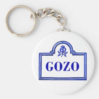 Gozo Granada Street Sign Key Chain