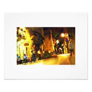 "Gozo Nightlife 20""x16"" Photo Print"