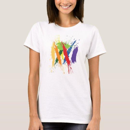 GPCR Protein Art T-Shirt (Women's)