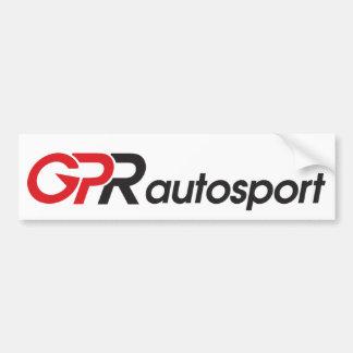 GPR Autosport Bumper Sticker