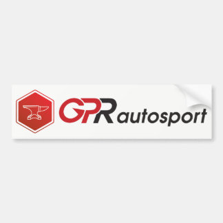 GPR Autosport Bumper Sticker - full