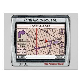 GPS God Personal Savior Custom Announcements
