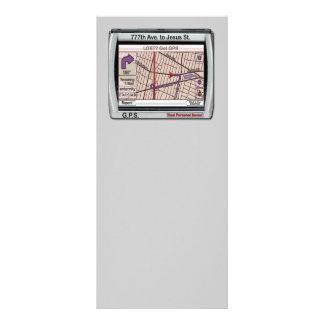 GPS God Personal Savior Custom Rack Card