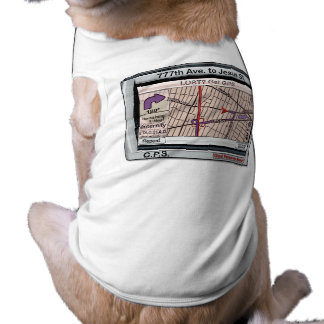 GPS God Personal Savior Dog T Shirt