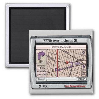 GPS God Personal Savior Magnet