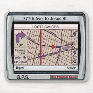 GPS God Personal Savior Mousepad