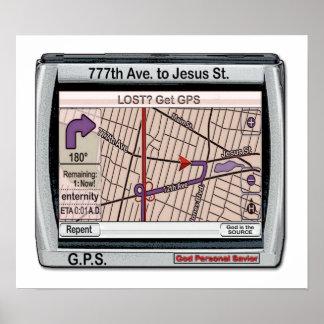 GPS God Personal Savior Print