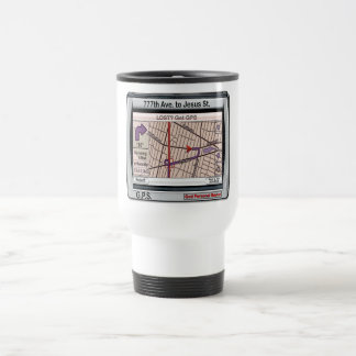 GPS God Personal Savior Stainless Steel Travel Mug