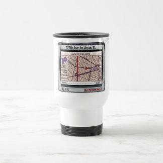 GPS God Personal Savior Stainless Steel Travel Mug