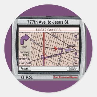 GPS God Personal Savior Sticker