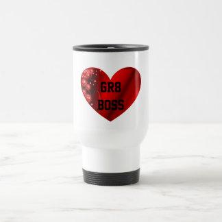GR8 Boss Heart Travel Mug
