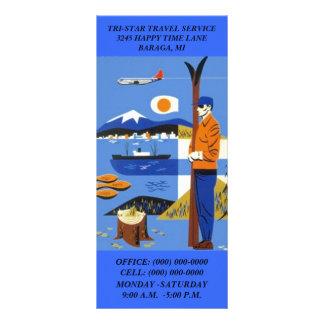 GR8 RETRO STYLE TRAVEL SERVICE AGENCY Rack Cards