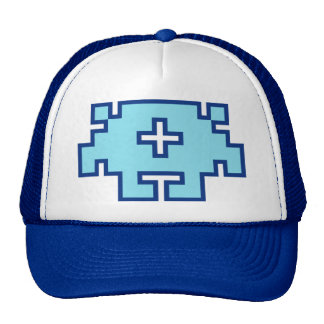 GR8bit Live! Monster Hat - Blue