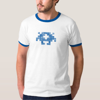 GR8bit Live! Monster Tee - Blue