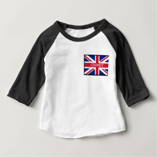 Gr8brit, Baby Apparel 3/4 Sleeve Raglan T-Shirt