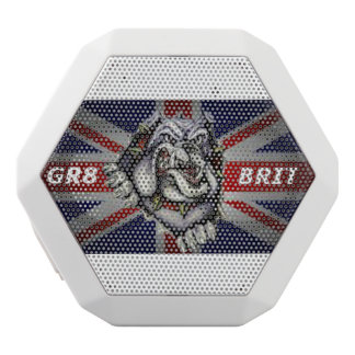 Gr8brit, Custom Boombot REX, White White Bluetooth Speaker