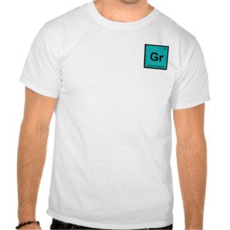 Gr - Grand Rapids Michigan Chemistry City Symbol T-shirts