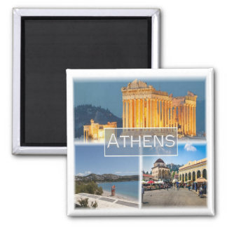 GR * Greece - Athens Magnet