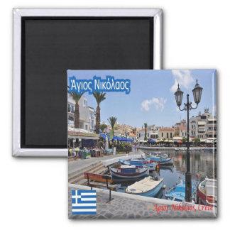 GR - Greece - Creta - Agios Nikolaos Magnet