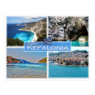 GR Greece - Kefalonia - Postcard