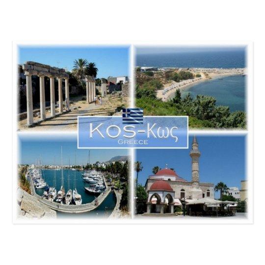 GR Greece - Kos - Postcard